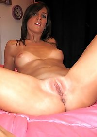 Check out super hot horny little ex girlfriend fuck her box in these hot solo fuck pics