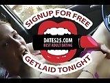 Dirty redheaded teen bates for bf in car